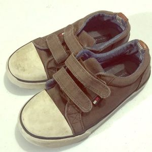 Other - Tommy Hilfiger Boys Baby Brown Strap Shoes 10